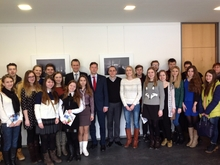 visit of students from BSEU in Mittweida